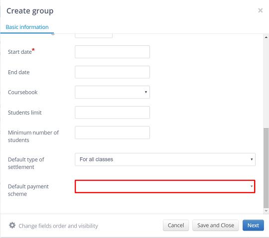 def payment scheme group