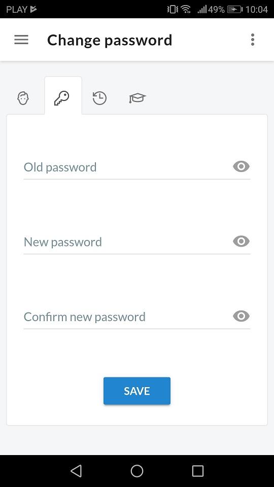 change password app