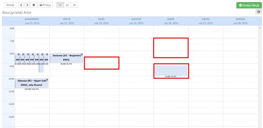 kliknij w kalendarz