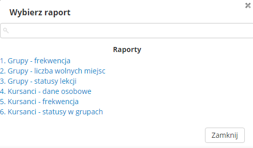 raporty firma
