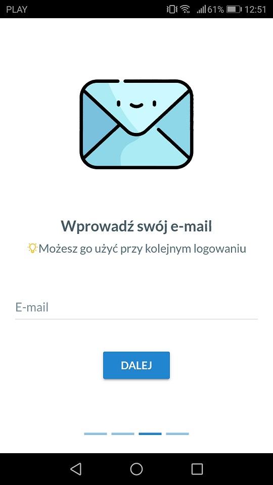 email aplikacja